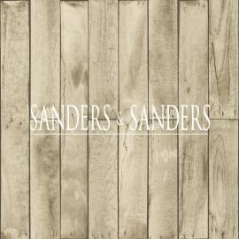 Sanders & Sanders Trends & More Sloophout Behang nr. 935245