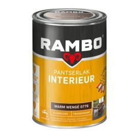 Rambo Pantserlak Interieur Warm Wengé 0776 ZIJDEGLANS 1,25 Liter