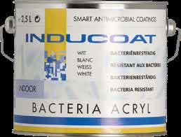 Inducoat Bacteria X 2C Wall Topcoat Zijdeglans 2,5 liter