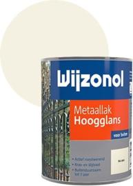Wijzonol Metaallak Hoogglans 9001 750 ml