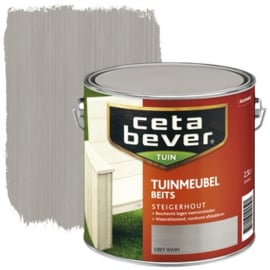 CetaBever Tuinmeubelbeits Grey Wash 2,5 Liter