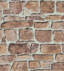 Rasch Wallpaper Aqua Relief  Steen nr. 402612