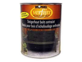 Verfijn Steigerhoutbeits Antraciet Wash 750 ml