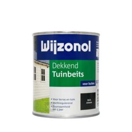 Wijzonol Dekkend Tuinbeits 9121 Antraciet 2,5 Liter