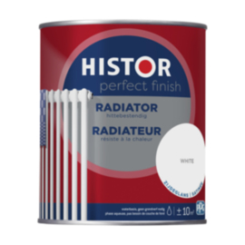 Histor Perfect Finish Radiator Wit Zijdeglans 750 ml