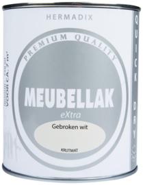 Hermadix Meubellak eXtra Gebroken Wit Krijtmat 750 ml