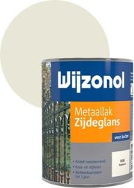 Wijzonol Metaallak Zijdeglans 9235 Roomwit 750 ml
