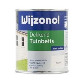 Wijzonol Dekkend Tuinbeits RAL 9001 2,5 Liter