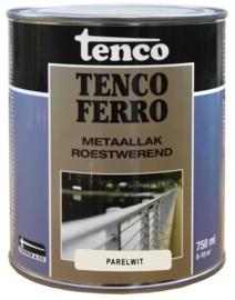 Tenco Ferro Metaallak Roestwerend Zijdeglans Parelwit 750 ml