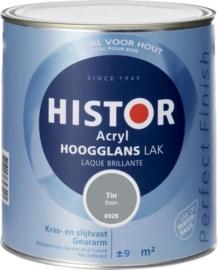 Histor Acryl Hoogglans Lak Tin 6928 750 ml