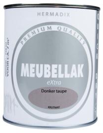 Hermadix Meubellak eXtra Donker Taupe Krijtmat 750 ml