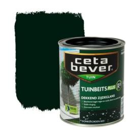 CetaBever Tuinbeits Plus R³  Dekkend Zijdeglans Donkergroen 605 750 ml
