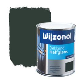 Wijzonol Dekkend Halfglans  9325 Woudgroen 750 ml