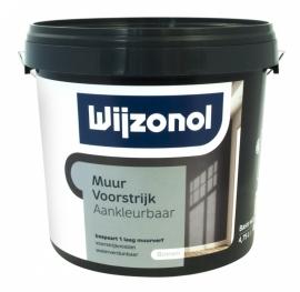 Wijzonol Muurvoorstrijk Aankleurbaar 2,5 Liter