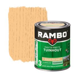 Rambo Pantserbeits Tuinhout Transparant  Kleurloos 0000 750 ml