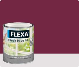 Flexa Strak In De Lak Hoogglans 1012 Purper 750ml