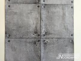 Noordwand Naturals Beton Blokken Behang 68619
