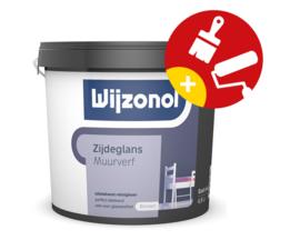 Wijzonol Muurverf Zijdeglans Donkere Kleuren 2,5 Liter