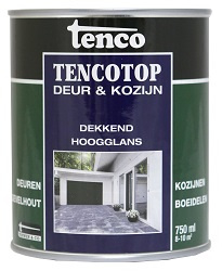 Tencotop Deur & Kozijn Dekkend Hoogglans 2,5 Liter