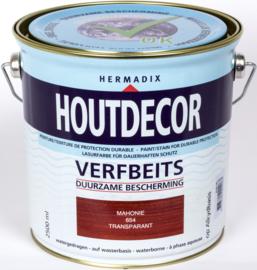 Hermadix Houtdecor Verfbeits Transparant 654 Mahonie 2,5 Liter