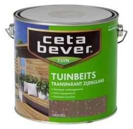 CetaBever Tuinbeits Transparant Vergrijsd Wit 031 2,5 Liter