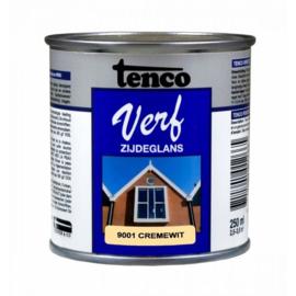 Tenco Verf Zijdeglans Cremewit 9001 250 ml