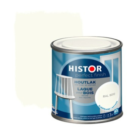Histor Perfect Finish Houtlak Zijdeglans RAL 9010 250 ml