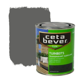 Cetabever Tuinbeits Transparant Antraciet 034 750 ml