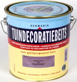 Hermadix Tuindecoratiebeits 786 Violetta Transparant 2,5 Liter