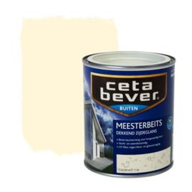 Cetabever Meesterbeits UV Dekkend Zijdeglans Cremewit 714 750 ml