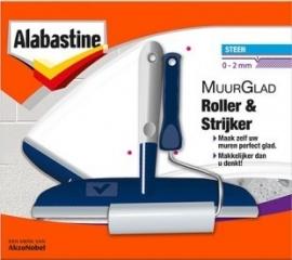 Alabastine Muurglad Set Roller en Strijker