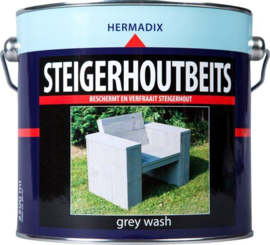 Hermadix Steigerhoutsbeits Grey Wash 2,5 Liter