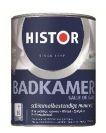 Histor Badkamer Muurverf RAL 9010 2,5 Liter