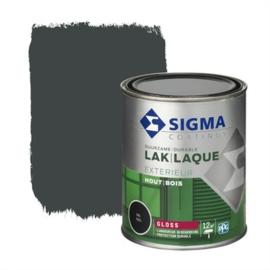 Sigma Lak Exterieur Hout Hoogglans RAL 7021 750 ml