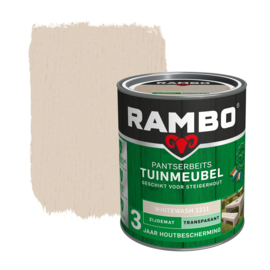 Rambo Pantserbeits Tuinmeubel White Wash 1211 750 ml
