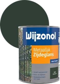 Wijzonol Metaallak Zijdeglans 9325 Woudgroen 750 ml