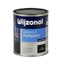 Wijzonol Dekkend Halfglans 9226 Koningsblauw 750 ml
