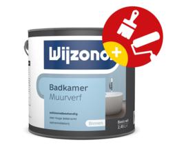 Wijzonol Badkamer Muurverf  Schimmelwerend  2,5 Liter