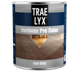 Trae Lyx Hardwax Pro Color Oud Grijs 750 ml
