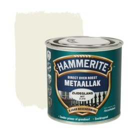 Hammerite Metaallak Zijdeglans Wit  Z210 250 ml