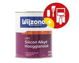 Wijzonol LBH Silicon Alkyd Hoogglanslak 500 ml