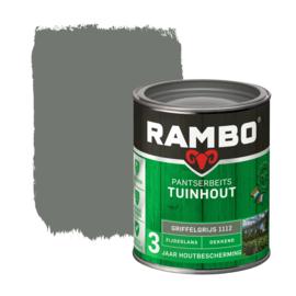 Rambo Pantserbeits Tuinhout Dekkend Griffelgrijs 1112 750 ml