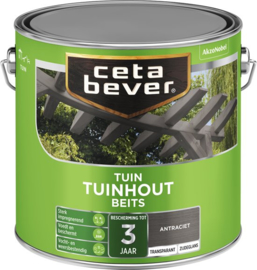 CetaBever Tuinhout Transparant Blank 2,5 L