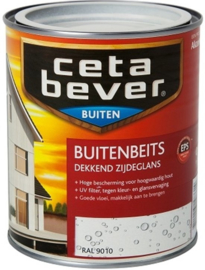 Cetabever Buitenbeits UV Dekkend RAL 9010 750 ml
