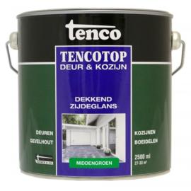 Tencotop Deur & Kozijn Dekkend Zijdeglans Middengroen 2,5 Liter