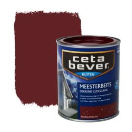 Cetabever Meesterbeits UV Dekkend Zijdeglans Engels Rood 407 750 ml