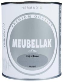 Hermadix Meubellak eXtra Grijsblauw Krijtmat 750 ml