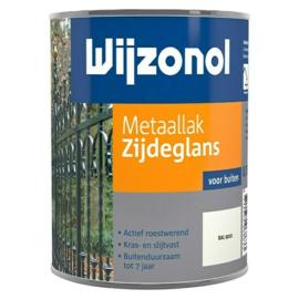 Wijzonol Metaallak Zijdeglans RAL 9010 750 ml