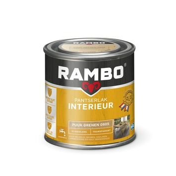 Rambo Pantserlak Interieur Puur Grenen 0805 ZIJDEGLANS 250 ml