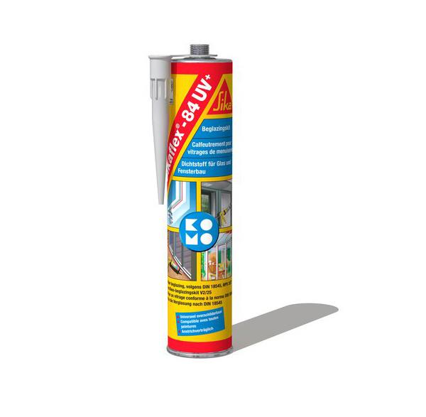 Sikaflex 84 UV Beglazingskit Zwart 300 ml